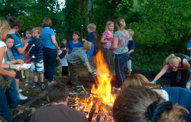 Summer camp in England. School trips to Kingswood