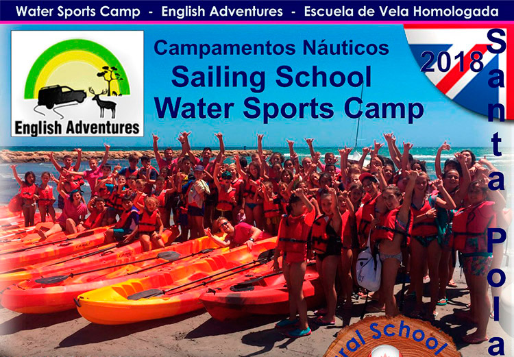 Summer camps on the beach in English in Santa Pola
