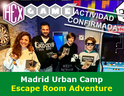 Urban Camp in Madrid