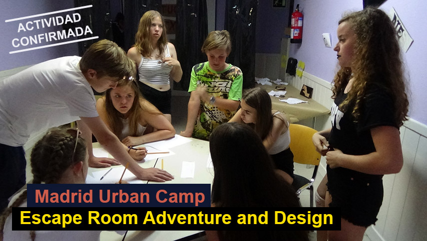 Madrid Urban Camp Escape Room